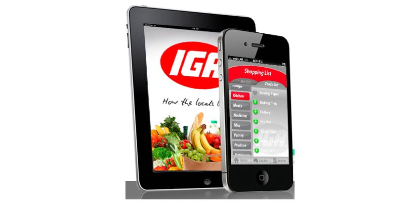 IGA mobile apps development