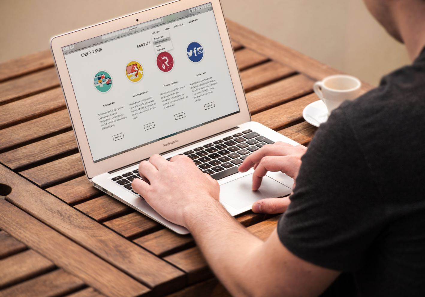 Setting up a website for your new business in Perth